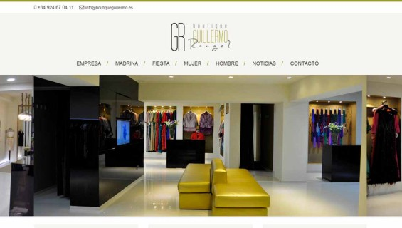 Boutique Guillermo Web