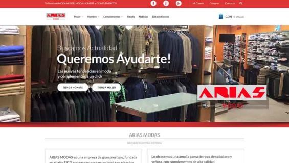 Arias Modas Tienda On-line