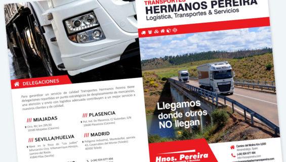 Brochure Transportes Pereira